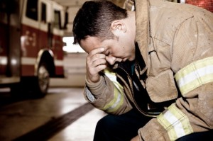 interview firefighter stress